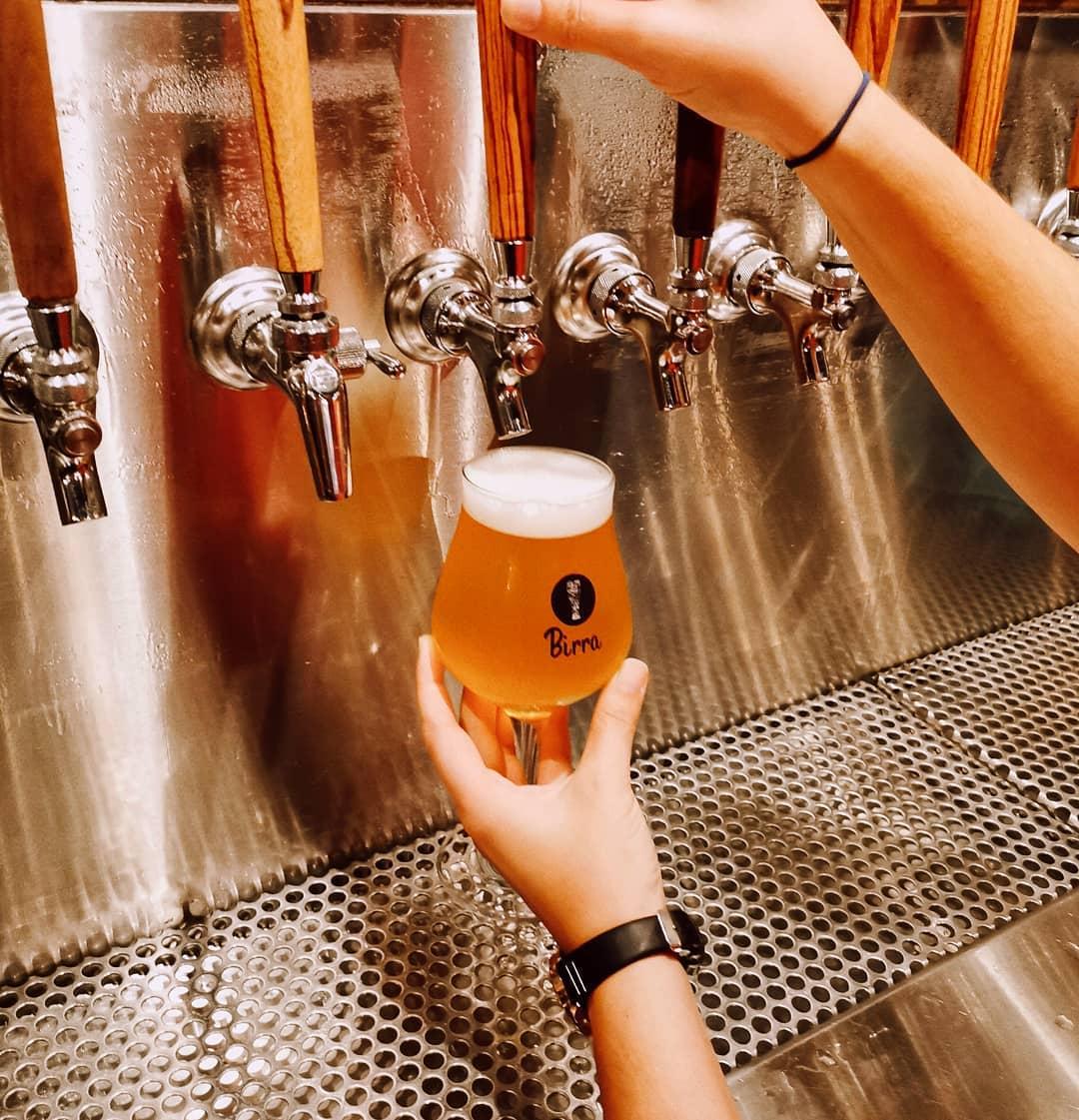 Bière de microbrasserie dans la Petite-Italie Montréal