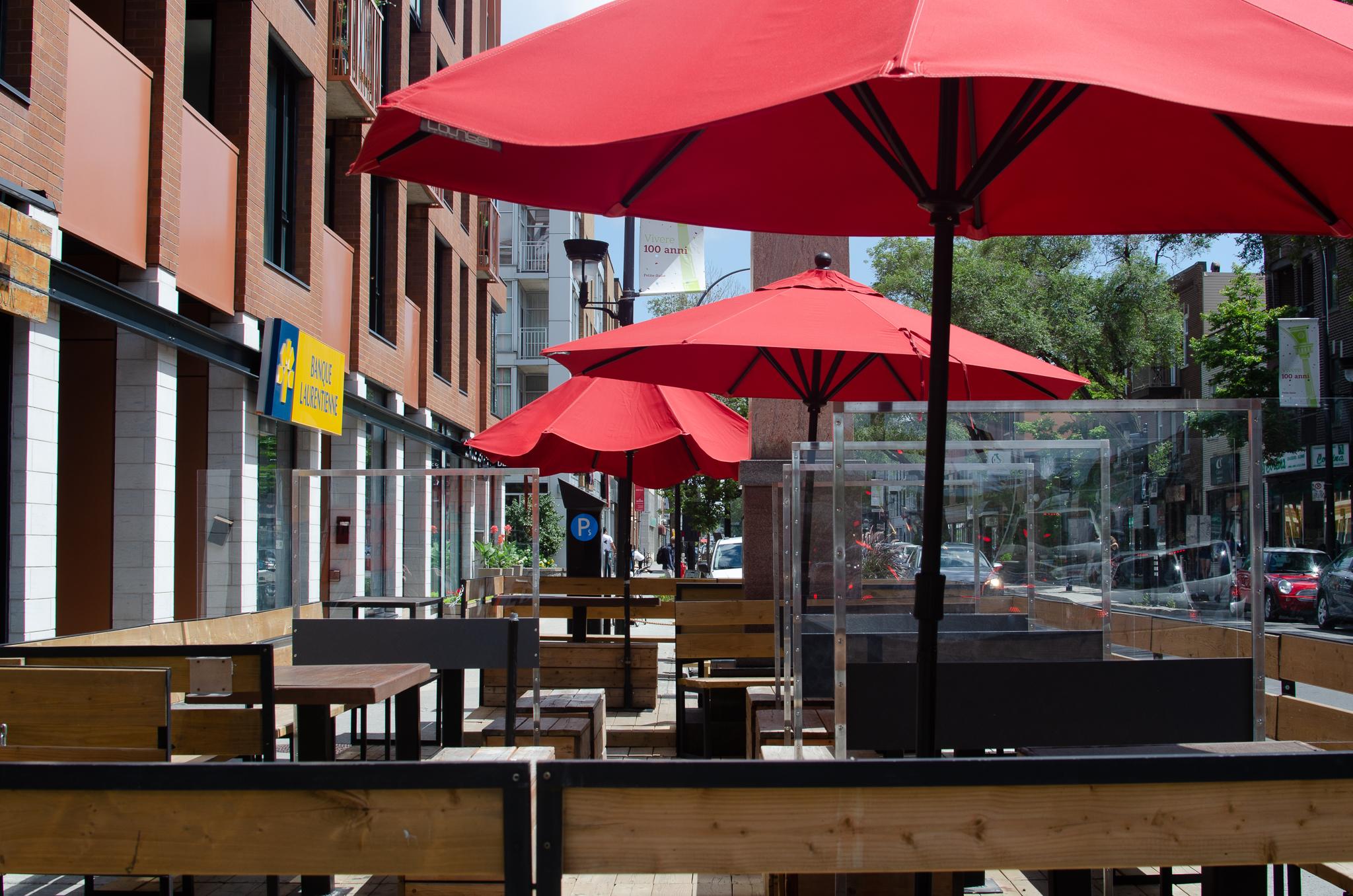 Terrasse bar Montréal